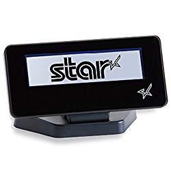 スター精密 カスタマーディスプレイ SCD222U BLK #39990030 取り寄せ商品