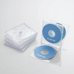 カード決済可能 SHOP OF THE YEAR 2019 パソコン 周辺機器 ジャンル賞受賞しました P5E 評価 CCD-JSCNQ5CR メーカー在庫品 エレコム CD DVDプラケース 5パック クリア 4枚収納 高い素材