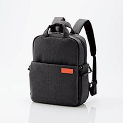 【P10E】エレコム off toco 2STYLEカメラバックパック/2018モデル/Sサイズ/ブラック(DGB-S042BK) メーカー在庫品