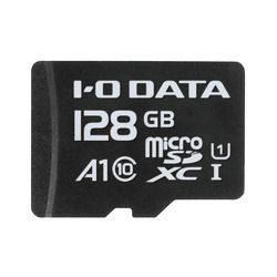 アイ・オー・データ機器 Application Performance Class 1/UHS-I対応 microSDカード 128GB(MSDA1-128G) 取り寄せ商品
