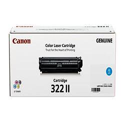 純正品 Canon キャノン CRG-322IICYN トナーカートリッジ322II シアン (2651B001) 目安在庫=△