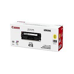純正品 Canon キャノン CRG-418YEL トナーカートリッジ418 イエロー (2659B004) 目安在庫=○