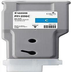 純正品 Canon キャノン PFI-206 C インクタンク シアン (5304B001) 目安在庫=△