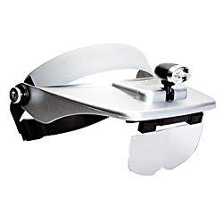KenkoTokina(ケンコー・トキナー) NEW ヘッドルーペ KHD-50N シルバー(140318) メーカー在庫品