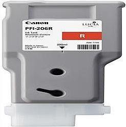 純正品 Canon キャノン PFI-206 R インクタンク レッド (5309B001) 目安在庫=△