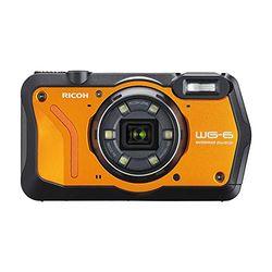 リコー 防水デジタルカメラ WG-6 (オレンジ) WG-6OR 目安在庫=△