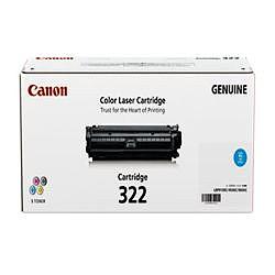 純正品 Canon キャノン CRG-322CYN トナーカートリッジ322 シアン (2650B001) 目安在庫=△