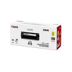 純正品 Canon キャノン CRG-416YEL トナーカートリッジ416 イエロー (1977B004) 目安在庫=○