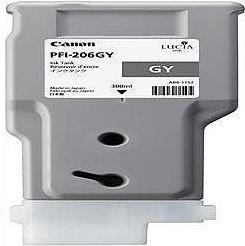 純正品 Canon キャノン PFI-206 GY インクタンク グレー (5312B001) 目安在庫=△
