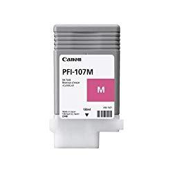 純正品 Canon キャノン PFI-107M インクタンク マゼンタ (6707B001) 目安在庫=○