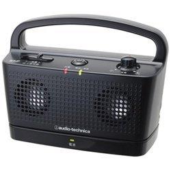 オーディオテクニカ デジタルワイヤレスステレオスピーカーシステム ブラック(AT-SP767TV BK) メーカー在庫品