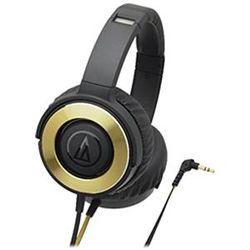 オーディオテクニカ ポータブルヘッドホン ブラック ATH-WS550 BGD メーカー在庫品