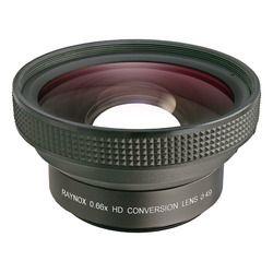 レイノックス ワイドコンバージョンレンズ ブラック HD-6600PRO-49A 取り寄せ商品