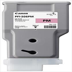 純正品 Canon キャノン PFI-206 PM インクタンク フォトマゼンタ (5308B001) 目安在庫=△