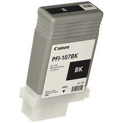 純正品 Canon キャノン PFI-107BK インクタンク ブラック (6705B001) 目安在庫=○