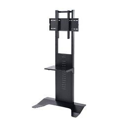 サンワサプライ 32~65インチ対応 壁寄せ液晶ディスプレイスタンド CR-PL33BK メーカー在庫品
