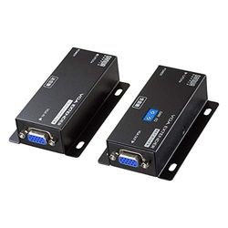 【P5S】サンワサプライ ディスプレイエクステンダー(セットモデル) VGA-EXSET1N(VGA-EXSET1N) メーカー在庫品