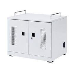サンワサプライ タブレット収納キャビネット(20台収納) CAI-CAB103W メーカー在庫品