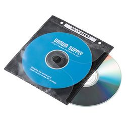 カード決済可能 SHOP 通販 激安◆ OF THE YEAR 2019 パソコン 周辺機器 ジャンル賞受賞しました 100枚 CD不織布ケース スーパーセール期間限定 目安在庫=△ FCD-FR100BKN DVD サンワサプライ ブラック リング穴付