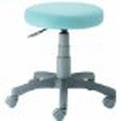 Digio 2 ラウンドチェア (抗菌PVCレザー張り) ブルー RZR-103BL 取り寄せ商品