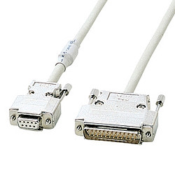 【P5S】サンワサプライ RS-232Cケーブル 10m KRS-3110FN(KRS-3110FN) メーカー在庫品