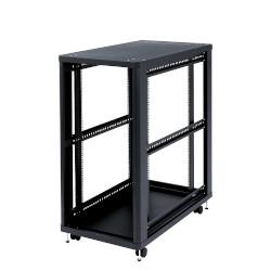 サンワサプライ 簡易19インチマウントオープンサーバーラック(24U) CP-SVC24UNPKN メーカー在庫品