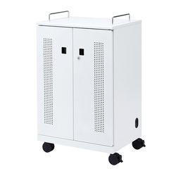 サンワサプライ タブレット収納キャビネット(40台収納) CAI-CAB102W メーカー在庫品
