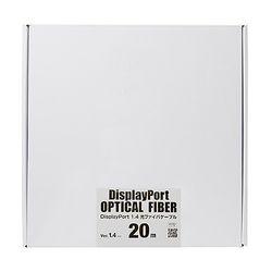 カード決済可能 SHOP OF THE YEAR 2019 お気に入り パソコン 周辺機器 メーカー在庫品 DisplayPort光ファイバケーブル セール特別価格 ver.1.4 ジャンル賞受賞しました 20m KC-DP14FB200 サンワサプライ