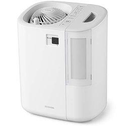 アイリスオーヤマ サーキュレーター加湿器 グレー/ホワイト(HCK-5519) 取り寄せ商品