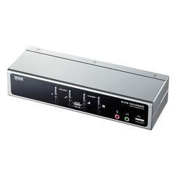 サンワサプライ USB・PS/2コンソール両対応パソコン自動切替器(4:1) SW-KVM4HVCN メーカー在庫品