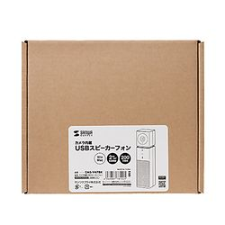 【P10S】サンワサプライ カメラ内蔵USBスピーカーフォン(CMS-V47BK) メーカー在庫品