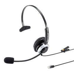 【P10S】サンワサプライ 電話用ヘッドセット(片耳タイプ) MM-HSRJ02(MM-HSRJ02) メーカー在庫品