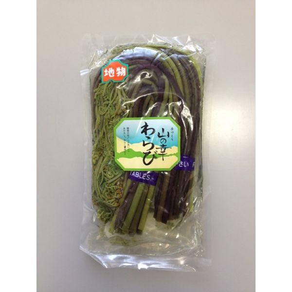 岩木屋 青森の味!わらび水煮(青森県産) ロング 150g×2束(AAW111) メーカー在庫品