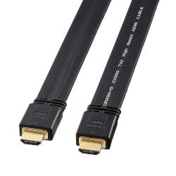サンワサプライ フラットHDMIケーブル 10m ブラック KM-HD20-100FK メーカー在庫品