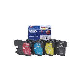 純正品 ブラザー インクカートリッジ お徳用4色パック LC11-4PK (LC11-4PK) 目安在庫=○