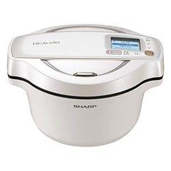 シャープ 水なし自動調理鍋 ヘルシオホットクック 無線LAN対応 1.6L ホワイト系(KN-HW16E-W) 取り寄せ商品