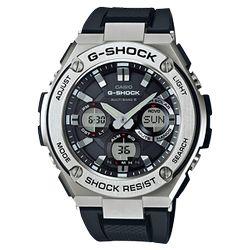 カシオ計算機(CASIO) [カシオ]CASIO 腕時計 G-SHOCK G-STEEL 世界6局対応電波ソーラー GST-W110-(GSTW1101AJF) 目安在庫=△