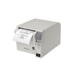 エプソン TM702US201 レシートプリンター/前面操作/80mm幅/クールホワイト 取り寄せ商品