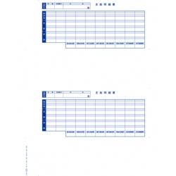 オービックビジネスコンサルタント 単票封筒用支給明細書(09-SP6202) メーカー在庫品