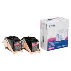 純正品 EPSON (エプソン) LPC3T18MP LP-S7100/S8100用トナーカートリッジ/マゼンタ/Mサイズ×2 (LPC3T18MP) 取り寄せ商品