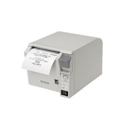 エプソン TM702UD241 レシートプリンター/前面操作/80mm幅/クールホワイト 取り寄せ商品