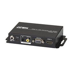 ATEN スケーラー搭載 HDMI→オーディオ・VGAコンバーター VC812 取り寄せ商品