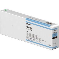 エプソン SC9LC70 インクカートリッジ(ライトシアン/700ml) 目安在庫=△