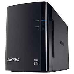 バッファロー HD-WL8TU3/R1J ミラーリング USB3.0 外付HDD 2ドライブ 8TB 目安在庫=△
