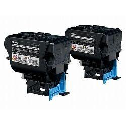 純正品 EPSON (エプソン) LPC4T9KP LP-S820/M720F用 トナーカートリッジ ブラック×2 (LPC4T9KP) 取り寄せ商品