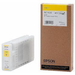 純正品 EPSON (エプソン) SC1Y35 Sure Color用 インクカートリッジ/350ml(イエロー) (SC1Y35) 目安在庫=△