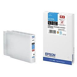 純正品 EPSON (エプソン) ICC93L ビジネスインクジェット用 インクカートリッジ(シアン) (ICC93L) 目安在庫=○