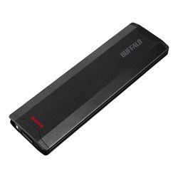 バッファロー SSD-PH1.0U3-BA USB3.1(Gen2)対応 ポータブルSSD 1TB ブラック 取り寄せ商品