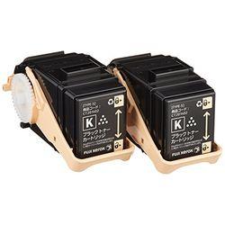 純正的物品富士全錄(Fuji Xerox)粉盒黑色(K)2瓶一套CT201402(CT201402)大致目標庫存=△