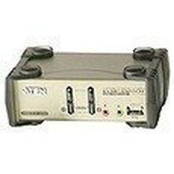 ATEN 2ポートデュアルインターフェース対応USB2.0KVMPスイッチ CS1732B 取り寄せ商品
